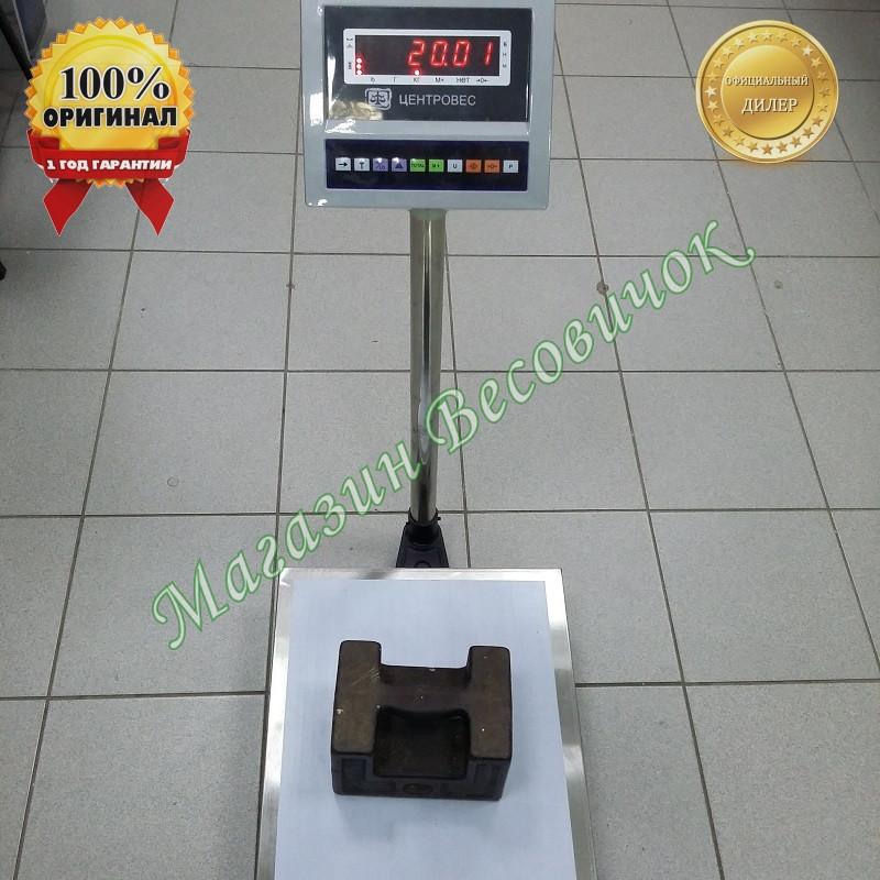 Весы товарные напольные ВПЕ-608-В 150кг (600х800мм)
