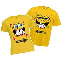 "Парная футболка ""Губка Боб"""