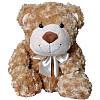 Мягкая игрушка Grand МЕДВЕДЬ (коричневый, с бантом, 33 см)
