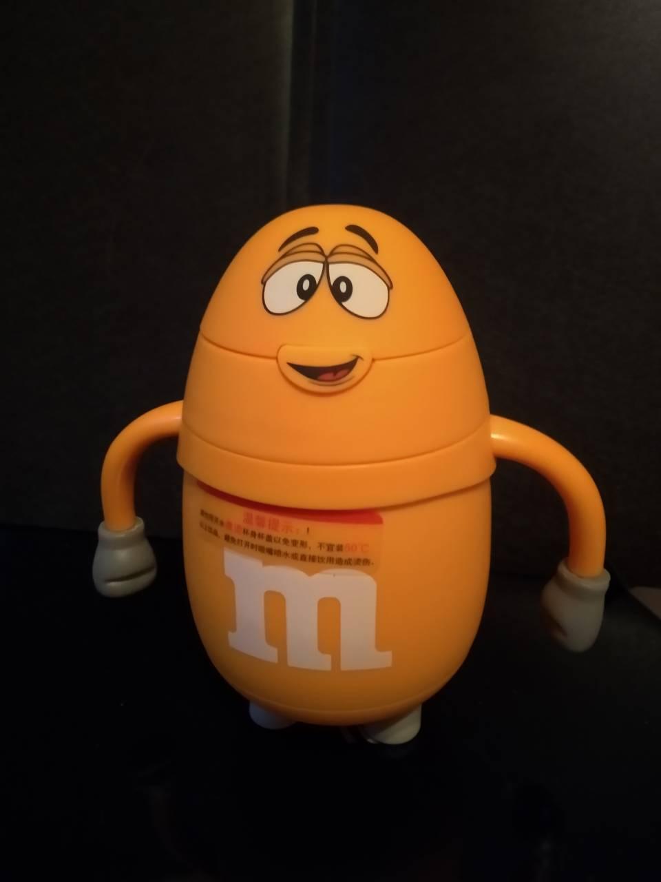 Пляшка-термос c трубочкою M&Ms 250 мл небитка