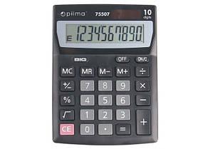 Калькулятор настольный 10 разрядный Optima O75507