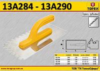 Терка с зубьями 4x4x4мм,  TOPEX  13A284, фото 1