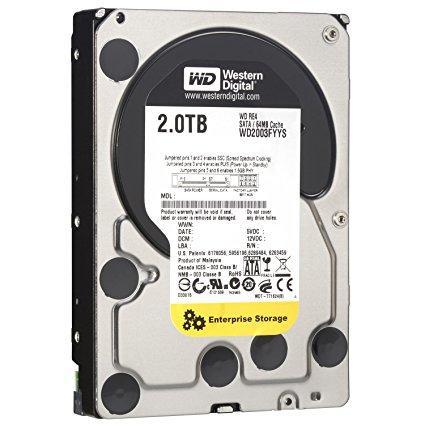 "Жесткий диск Western Digital RE4 2TB 7200rpm 64MB WD2003FYYS 3.5"" SATA II ""Over-Stock"""
