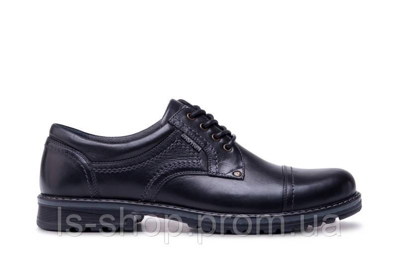 31a45ba81 Туфли черные кожаные ТМ Бастион а.009ч Бесплатная доставка + Бонус ...