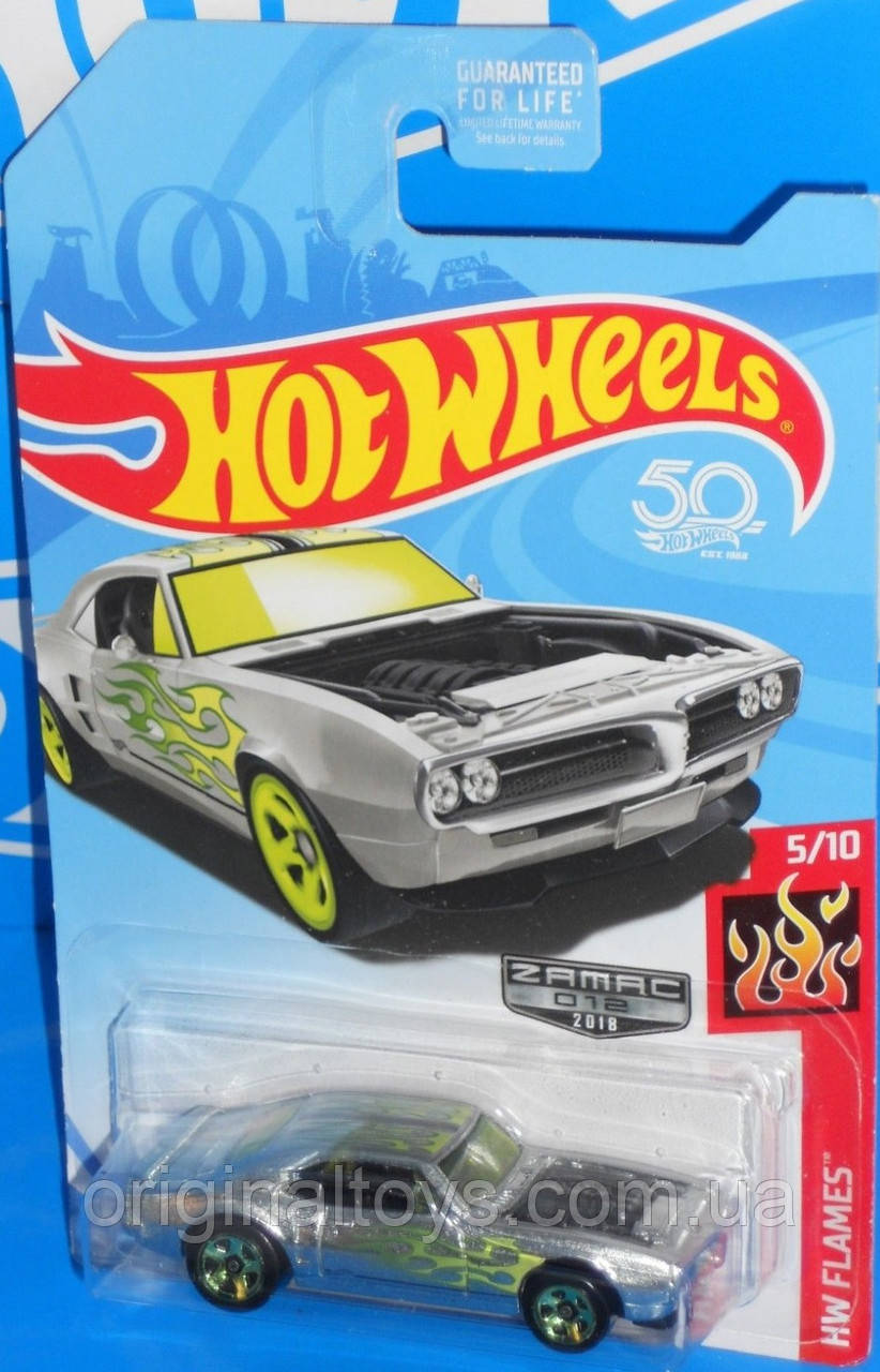 Базова машинка Hot Wheels Zamac '67 Pontiac Firebird