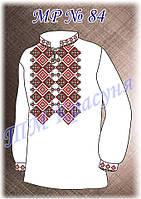 Заготовка под вышивку и пошив мужской рубашки