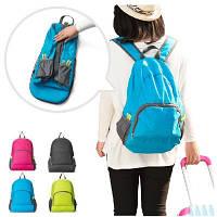 Рюкзак  складной Genner бирюзовый 02036/01, фото 1