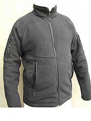"""Тактическая флисовая кофта куртка """"Bearskin"""".Черный, все разм."""