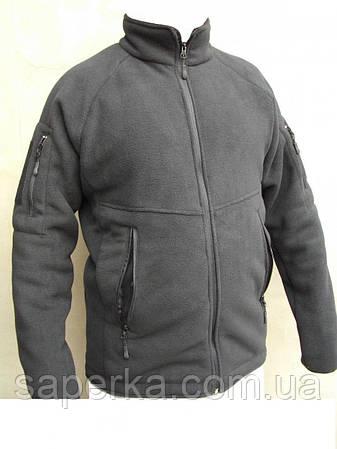 """Тактическая флисовая кофта куртка """"Bearskin"""".Черный, все разм., фото 2"""