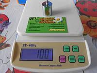 Кухонные весы без чаши SF-400А 10кг