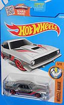 Базовая машинка Hot Wheels Zamac  Plymouth AAR Cuda