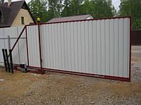 Ворота секционные  откатные, гаражные, распашные