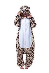 (L, XL) Пижама кигуруми леопард v148