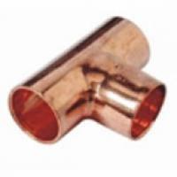 5130 Тройник (медь) SANHA 15
