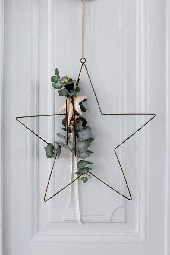 Скандинавский декор к Рождеству
