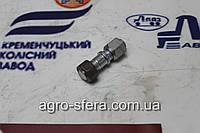 Шпилька колеса 2ПТС-4 правая (с гайкой) М16х1,5