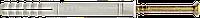 Дюбели для быстрого монтажа 6х40мм с потайным бортиком (нейлон)