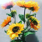 Штучний соняшник.Соняшник для вази