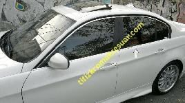 Окантовка стекол (нерж.) - BMW 3 серия E-90-93 2005-2011 гг.
