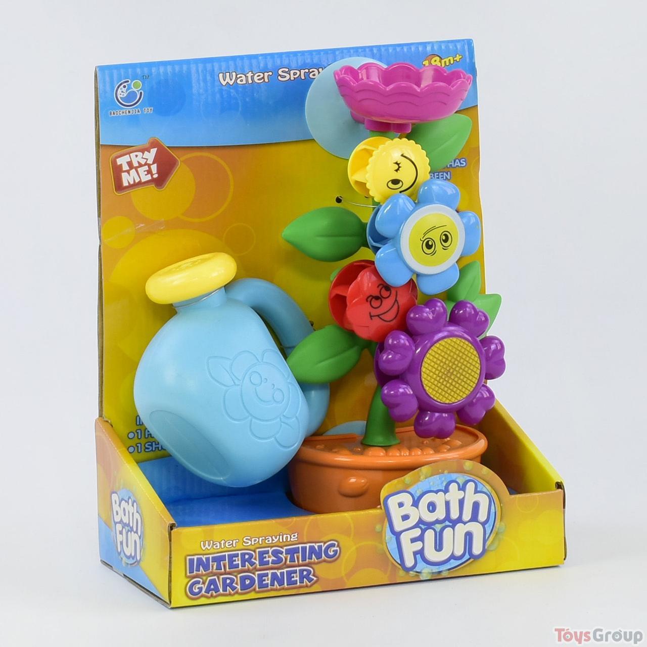 Игрушка для ванной Водопад «Цветок в горшке» 9909