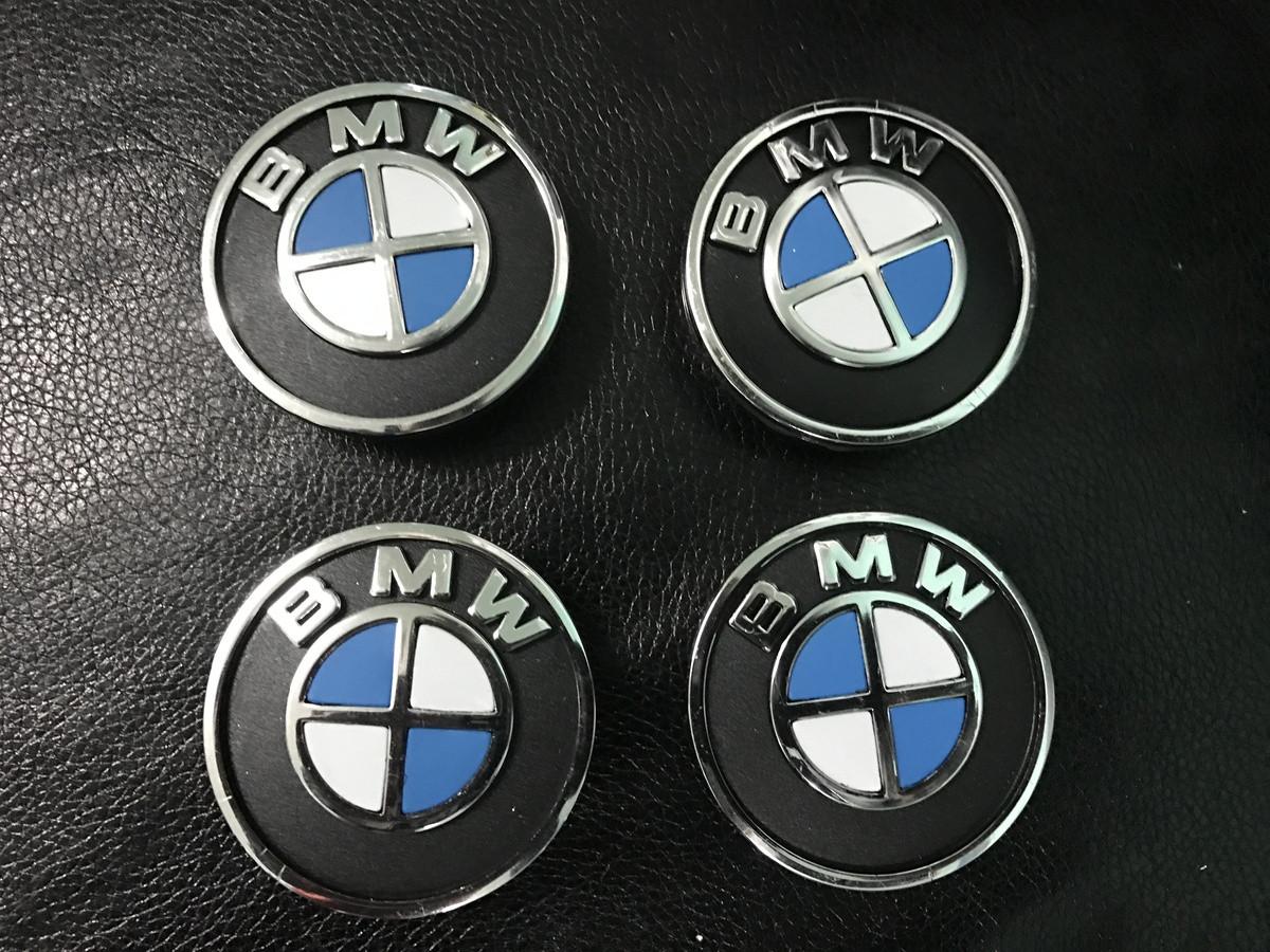 Колпачки в титановые диски V1 (4 шт) - BMW 3 серия E-90-93 2005-2011 гг.