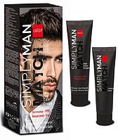 Крем-краска для волос Nouvelle Simply Man Hair Color Cream 40+40 мл.