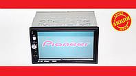 "2din Pioneer 7022 Магнитола 7"" Экран + AV-in + пульт на руль, фото 1"