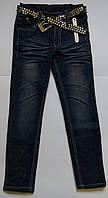 Джинсовые штаны на девочку 4 - 8 лет