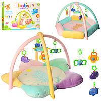 Детский развивающий коврик для младенца Bambi PQ281-4