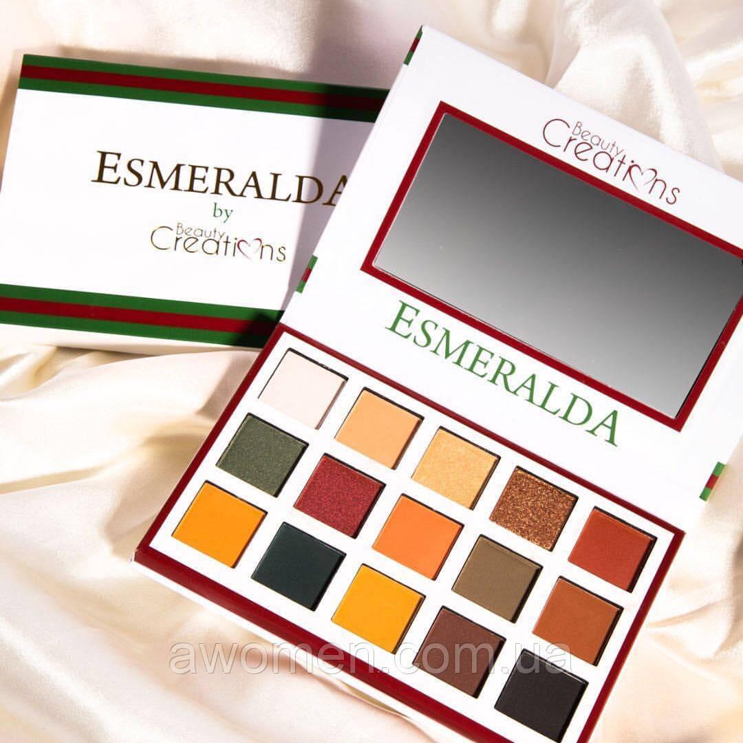 Тени для век Beauty Creations ESMERALDA PALETTE № 1