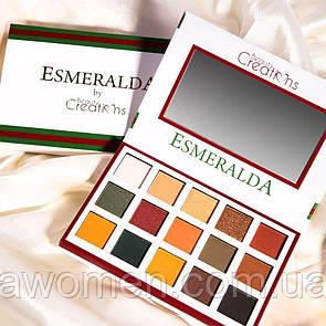 Тіні для повік Beauty Creations ESMERALDA PALETTE № 1
