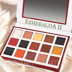 Тени для век Beauty Creations ESMERALDA PALETTE № 2