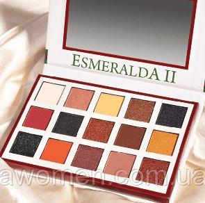 Тіні для повік Beauty Creations ESMERALDA PALETTE № 2