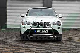Кенгурятник WT018 (нерж) - BMW X1 E-84 2009-2015 рр.