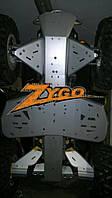 Защита днища BRP Can Am Renegade 650/800/1000 рама G2 2012-16