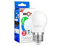 Лампа G45 4W E27 4500K BIOM