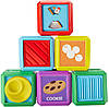 Fisher-Price Сенсорные кубики Laugh & Learn First Words Food Blocks
