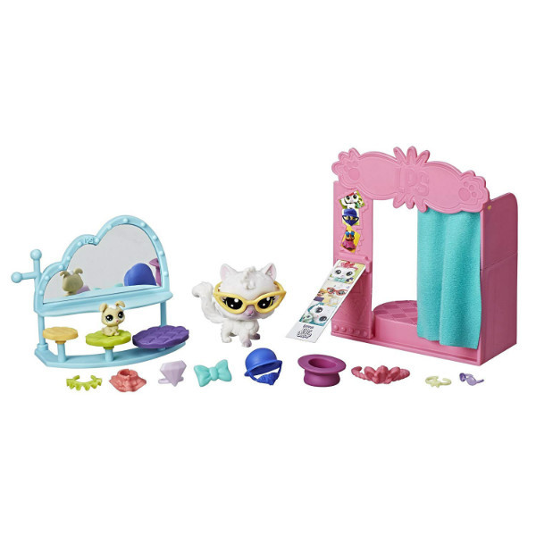 Littlest Pet Shop S2 Набор Фотокомната flashy photo booth