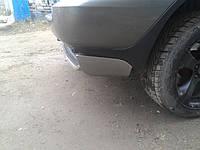 Накладка на задний бампер (под покраску) - BMW X5 E-53 1999-2006 гг.