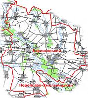 Геодезичні роботи та послуги в Баришівському районі