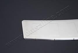 Накладка на задній бампер OmsaLine (нерж.) - BMW X6 E-71 2008-2014 рр.