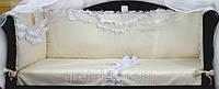 Бортики в кроватку для новорожденных Ангелочек