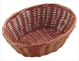 Корзина для хлеба плет. овальная 18*13*6.5 см, Польша