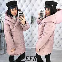 Женская куртка из плотной плащёвки канада