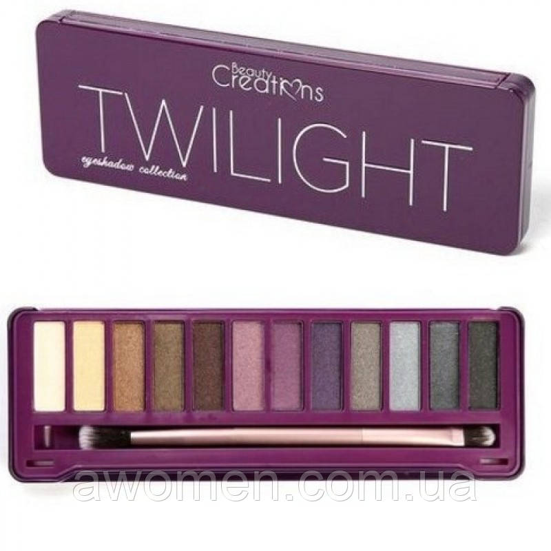 Тени для век Beauty Creations TWILIGHT EYESHADOW PALETTET