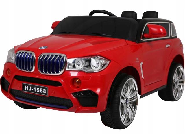 Детский электромобиль на аккумуляторе CABRIO B6 EВА красный с пультом управления (радиоуправление)