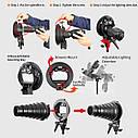 Софт-бокс для накамерных вспышек GODOX 60х60 см., фото 6