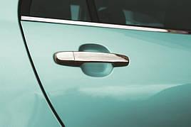 Накладки на ручки (4 шт., нерж.) - Daihatsu Materia 2006+ рр.