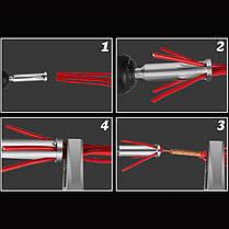 Универсальный электрический кабель Быстрая проводка Коннектор Параллель 2.5-4 Квадрат 2-5шт Провод - 1TopShop, фото 3