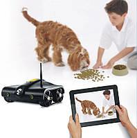 Новая разработка! танк с камерой 001, управляется по wi-fi с мобильного телефона/планшета, 60 метров, 6*аа
